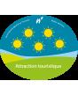 Classification officielle d'une attraction en Wallonie : 2 soleils