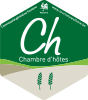 Classification officielle d'une chambre d'hôtes en Wallonie : 2 épis