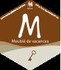 Classification officielle d'un meublé de vacances en Wallonie : 1 clé