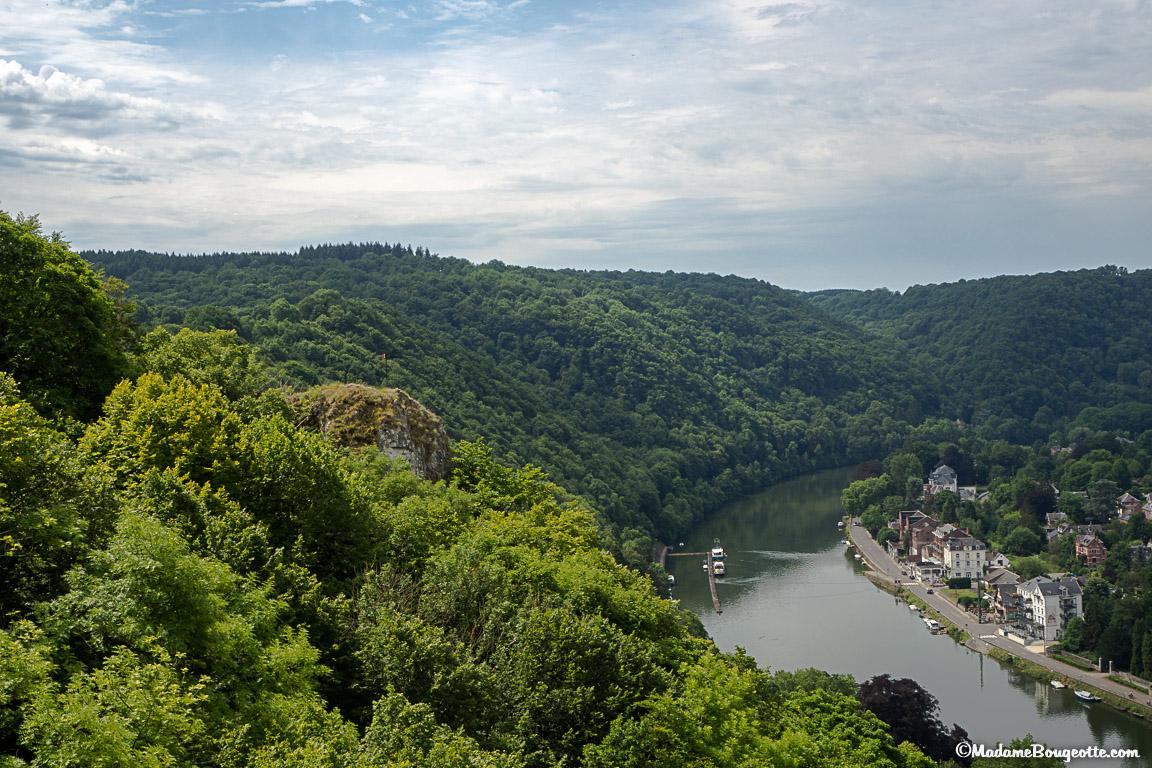 Point de vue du Drapeau sur la Meuse et Waulsort