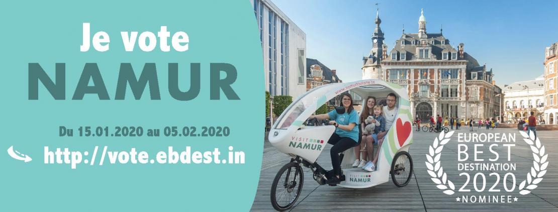 Votez pour Namur !