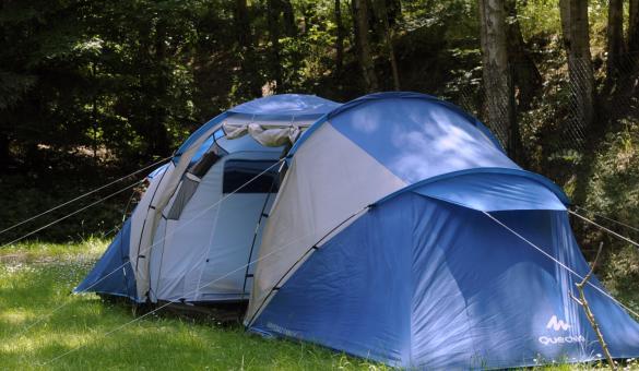Camping du Domaine de Claire-Fontaine à Godarville