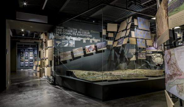 The Terra Nova Visitor Centre in Namur presents 2000 years of European urban and military history