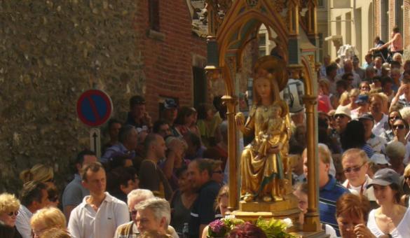 Procession Notre-Dame à Ittre