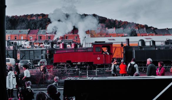 Profitez des animations et des décorations d'Halloween dans ce train spécial à Mariembourg au Chemin de Fer à Vapeur des 3 Vallées