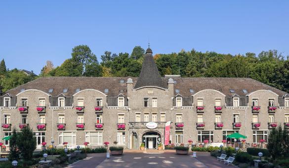 Floréal - La Roche-en-Ardenne - cadre vert - Ourthe - 76 chambres - 38 studios - restaurant gastronomique - Le Parc