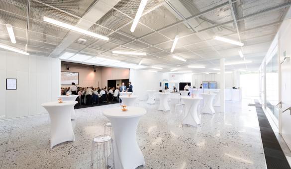 Bluepoint Conference & Business Center à Liège événement MICE en Wallonie