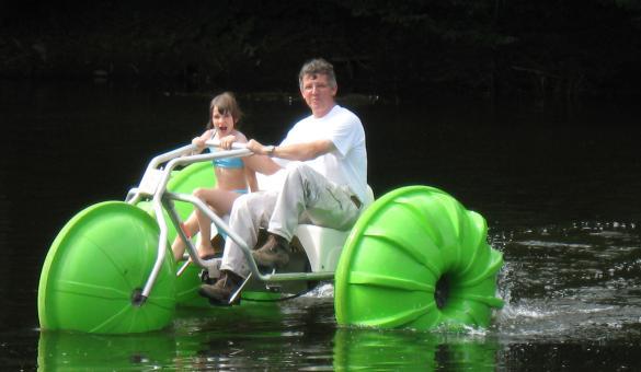 Centre de loisirs Récréalle - activités - Ardenne - Vresse-Sur-Semois - Aquabike