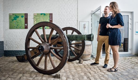Découvrir les collections du Musée Wellington situé à Waterloo