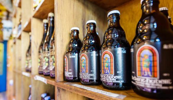 Venez découvrir la fameuse bière de Saint-Hubert