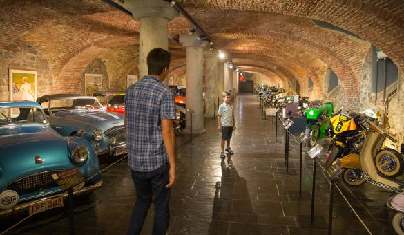 The Spa-Francorchamps racetrack museum