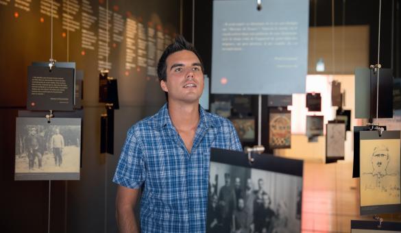 Entdecken Sie das Museum Guillaume Apollinaire in Stavelot