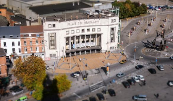 Enjoy amazing shows at the Palais des Beaux Arts in Charleroi