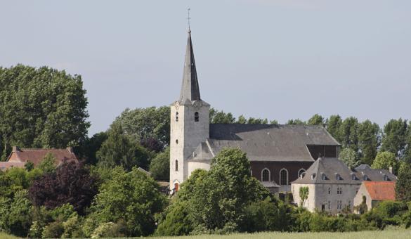 Les plus beaux villages de Wallonie - Mélin - clocher - nature - paysage