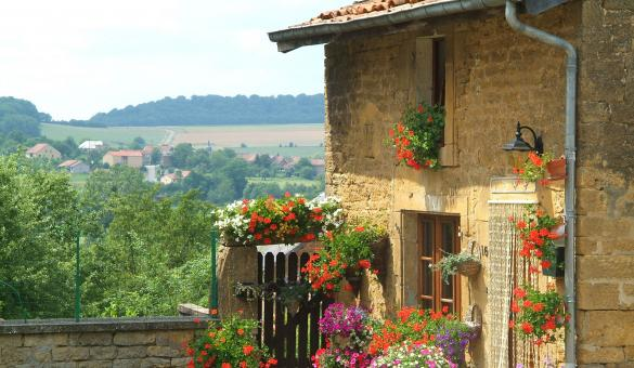 Les plus beaux villages de Wallonie - Village de Torgny