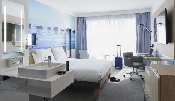 Hôtel - Novotel - Charleroi Centre - chambre - moderne - confortable - groupe Accor