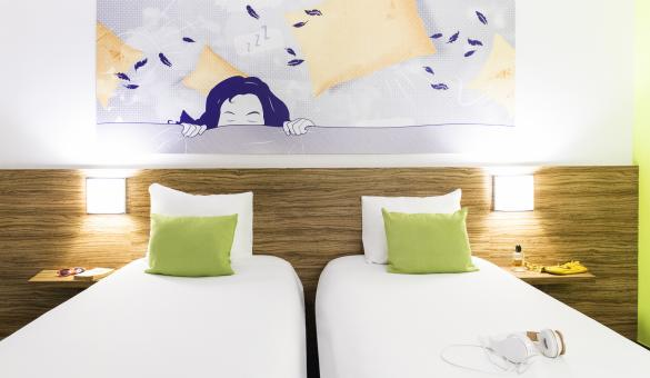 Ibis Style Hotel & Events - Louvain-la-Neuve - Vue d'une chambre