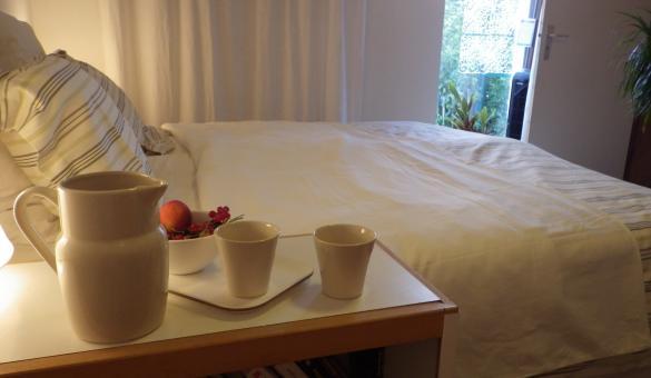 Chambre d'hôtes A Quiet Room à Rossignol, chambre A Quiet Room