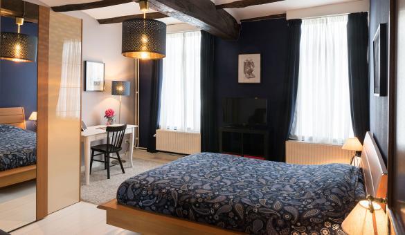 Chambre d'hôtes - Au Petit Dragon - Mons - 3 épis - entre 2 et 4 personnes - centre-ville
