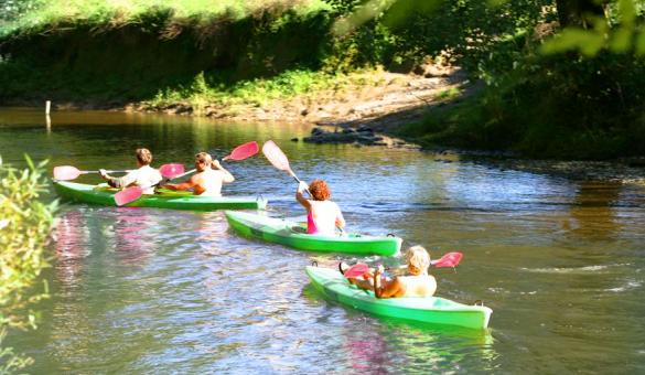 Adventure Valley Durbuy: discesa dell'Ourthe in kayak - Provincia del Lussemburgo (Vallonia)