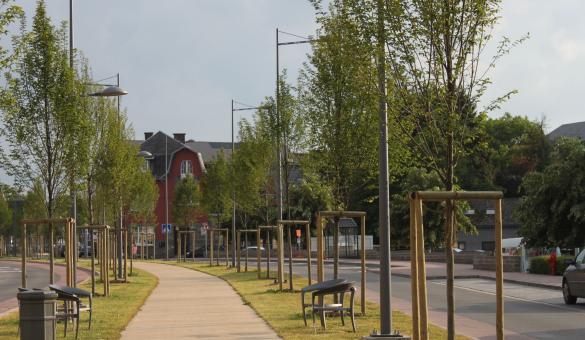 Boulevard urbain Marche-en-Famenne