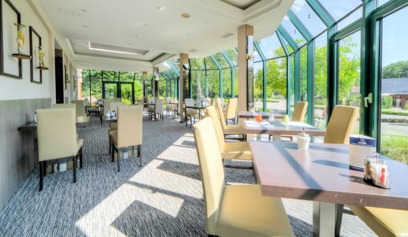 Le restaurant de l'Hotel & Aparthotel Casteau Resort Mons
