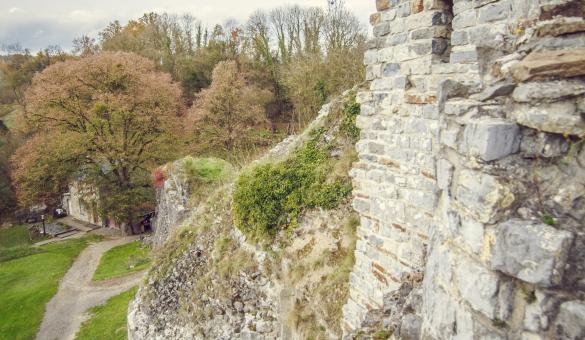 ruines du château de moha