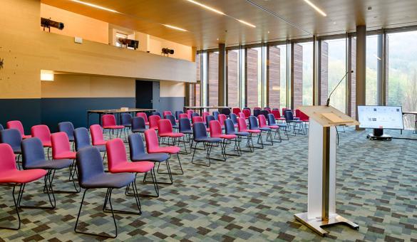 salle de séminaire en théâtre pour vos événements d'affaires en Wallonie