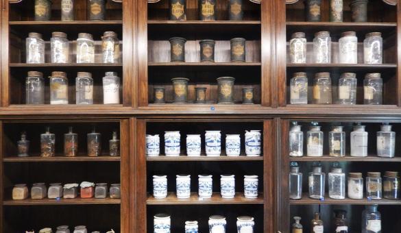 Ontdek het farmaceutisch museum van de abdij van Orval