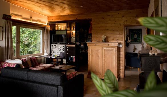 Meublé de Vacances Un petit coin de Paradis, le salon