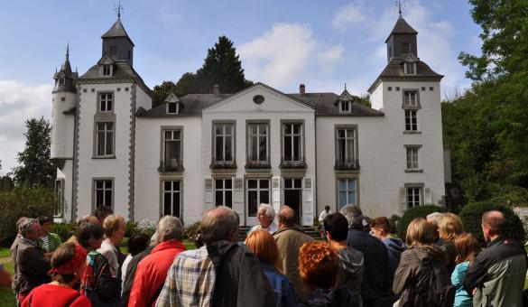 Fonds Félicien Rops - Façade arrière - public