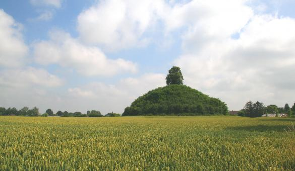 Tumulus - Glimes - Wallonie insolite - tombe gallo-romaine - Incourt