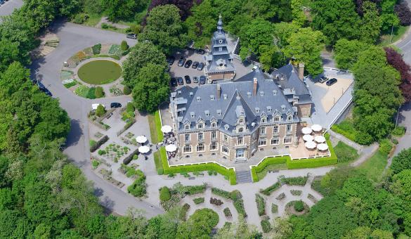 4-sterrenhotel En -restaurant Château De Namur