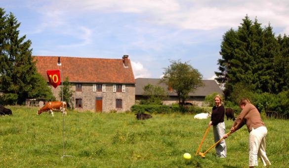 Golf fermier - Wallonie insolite