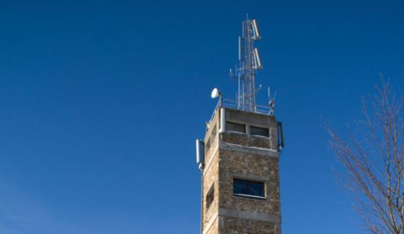 Signal de Botrange - tour - point culminant - Belgique - 694 m - altitude - Hautes Fagnes