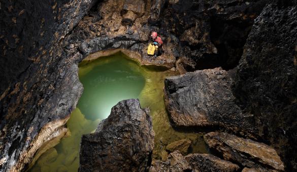 Geopark - Famenne-Ardenne - patrimoine - géologie - Wallonie - Hotton - Grotte