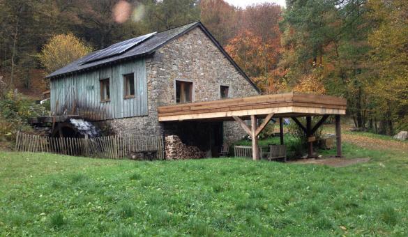 moulin - scierie - Pré Moré - REDU