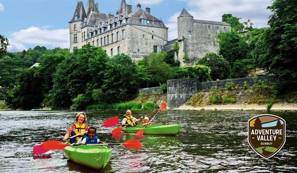 Kayak down the Ourthe with Adventure Valley Durbuy