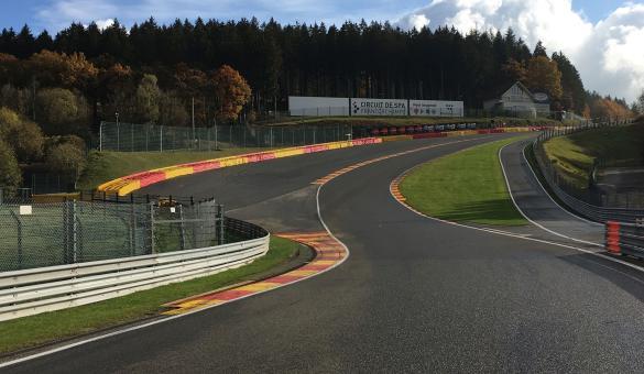 Circuit - Spa-Francorchamps - course - voiture