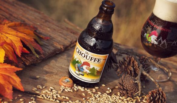 Mc Chouffe beer by the Achouffe brewery