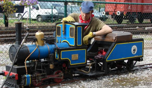 Visit the steam railway of the three valleys museum in Treignes and discover Belgium's rail and industrial history.