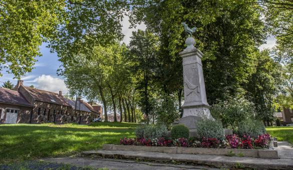 Montignies-sur-Roc, een van de mooiste dorpen van Wallonië