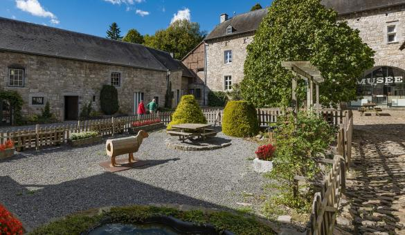 Musée - château-fort - Logne - Ferme - la Bouverie