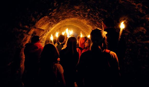 Saint-Valentin au Château de Bouillon - Balade au flambeau