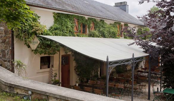 Brasserie de Bellevaux - terrasse