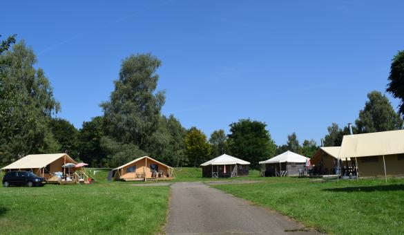 Camping Floreal Colline de Rabais à Virton