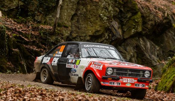 Herock Spa Rally, épreuve du championnat de Belgique des rallyes