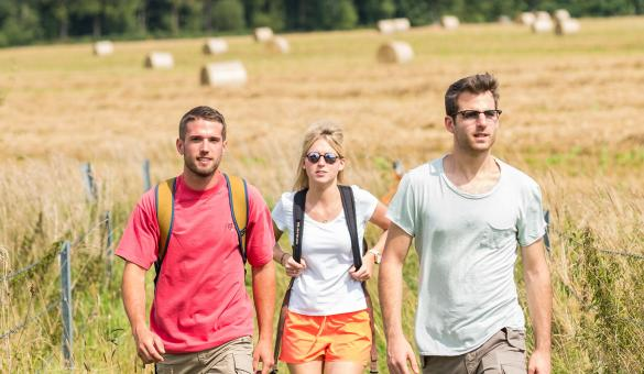 GR paths - Chimay - hikes - abbey - Trappist