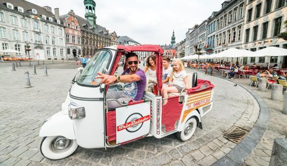 Triobalade - Wallonie insolite - taxi