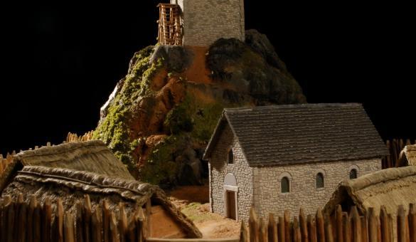 Huis van het middeleeuwse erfgoed in de Maasvallei in Dinant